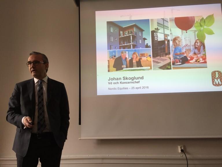 Lunchpresentation med JM