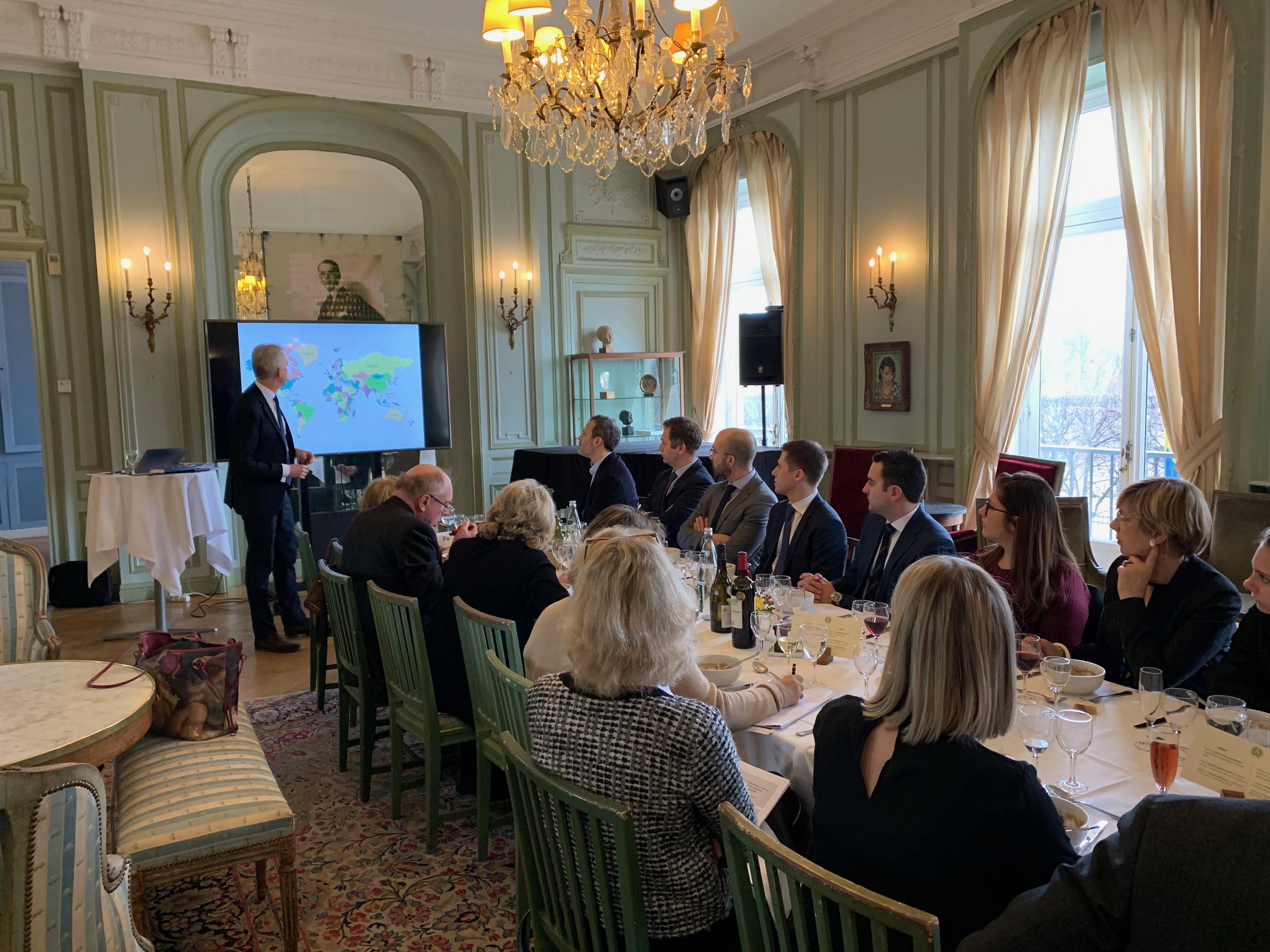 Séminaire à Paris sur le thème Opportunités mondiales, opportunités nordiques & le futur du e-commerce
