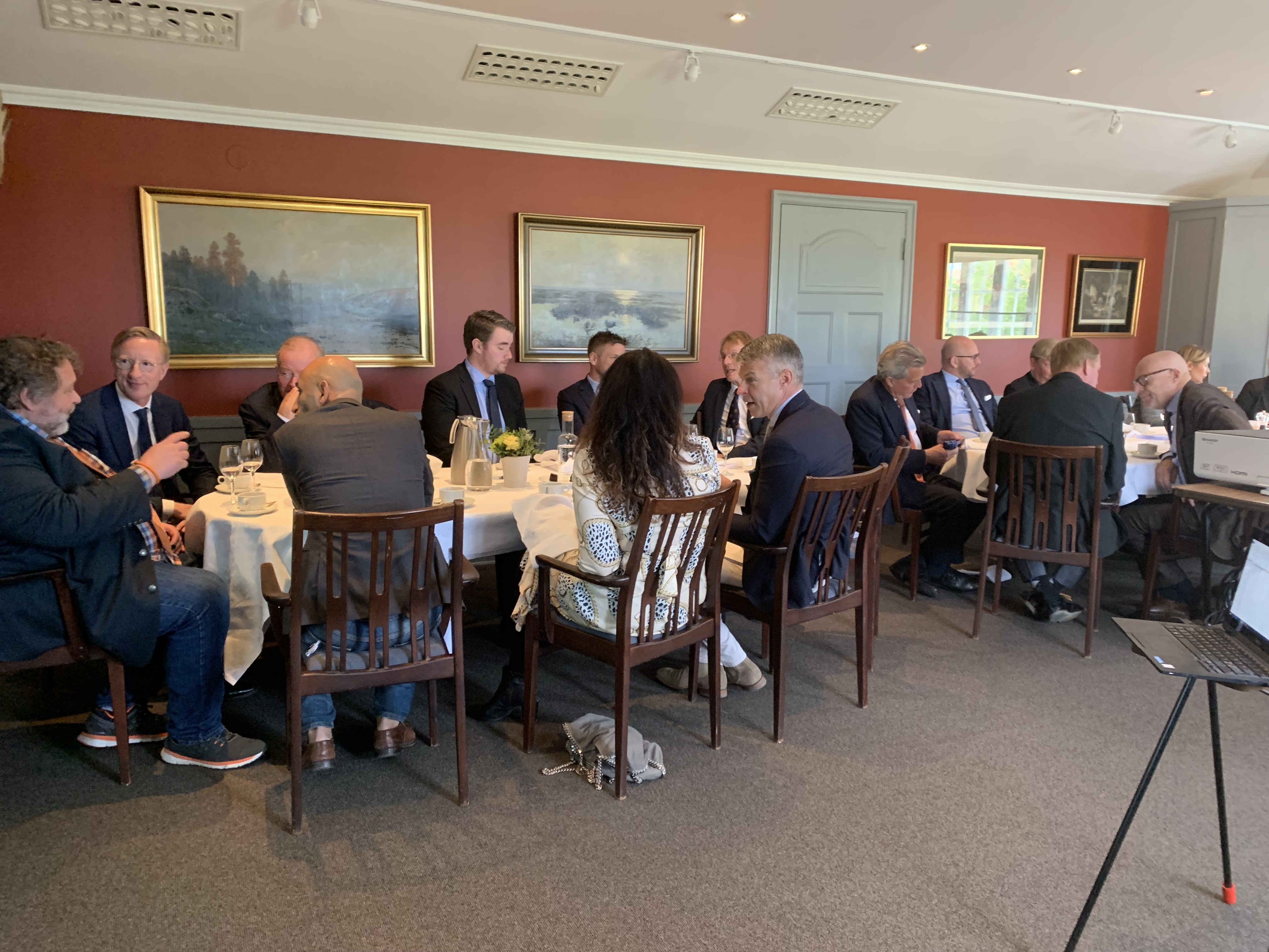 Lunchpresentation med New Wave Group i Göteborg
