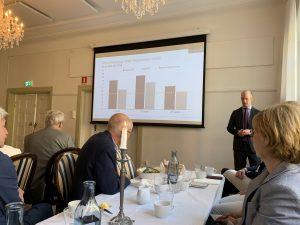 Lunchpresentation med Investor i Uppsala