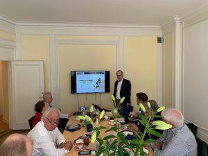 Lunchföredrag med Lagercrantz